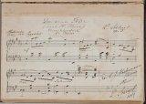 voor het autografenalbum van Louise Westermann-Heinze (1837-1929), stiefdochter van Gustav Adolph Heinze