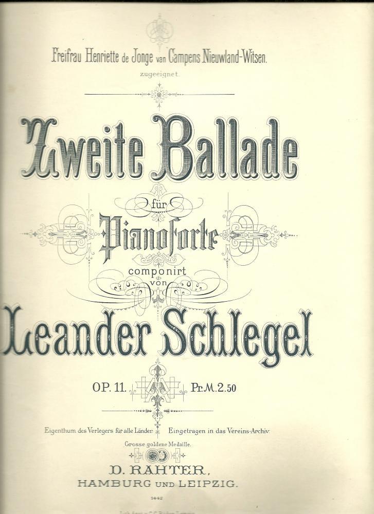 Zweite Ballade opus 11