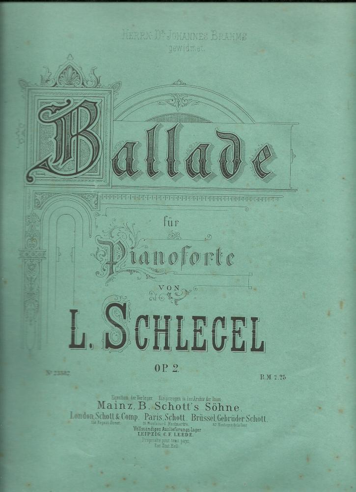 Ballade opus 2