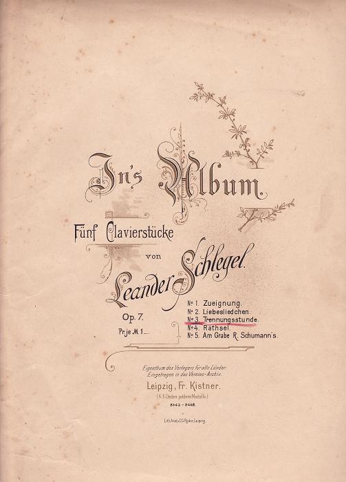 In's Album opus 7: no.3