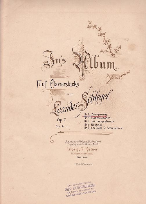 In's Album opus 7: no.1
