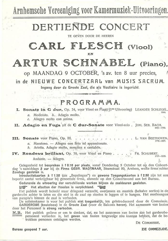 Arnhem, 9 oktober 1911