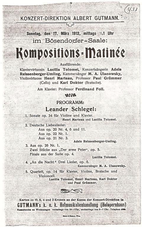 Wenen, 15 maart 1912
