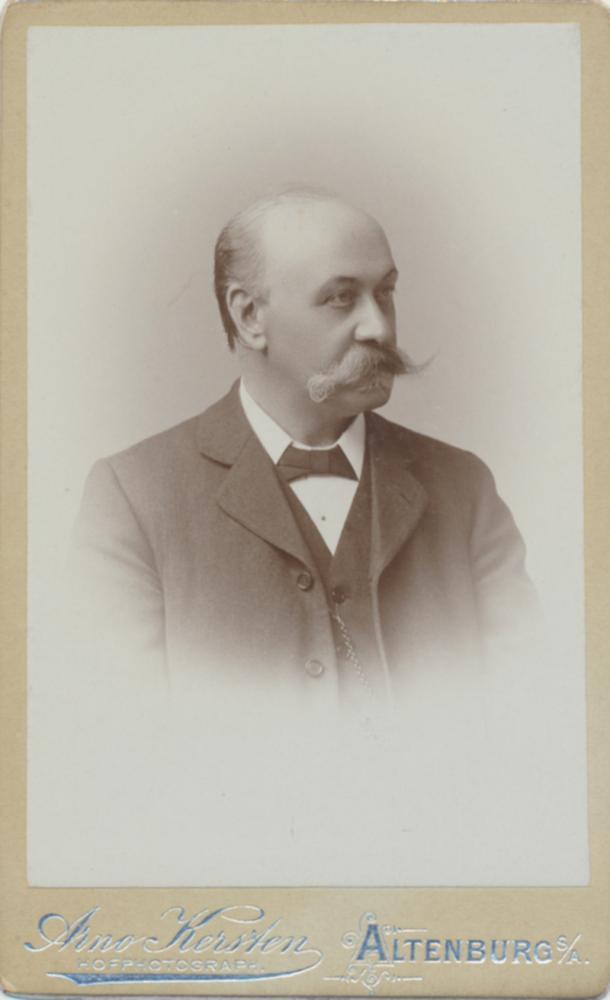 Altenburg, hoffotograaf Arno Kersten, uiterlijk 1901