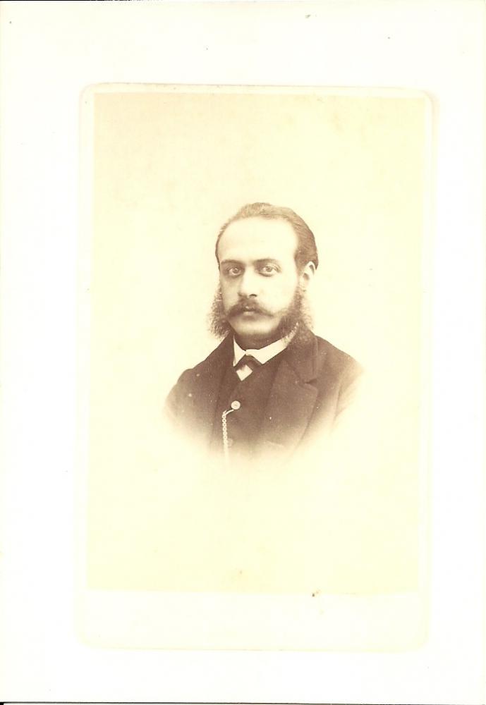 fotograaf J.H. Hoffmeister, in Leiden gevestigd van 1848 tot 1874