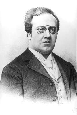 Ferdinand Löwe (lithografie van R. Fenzl, 1898))