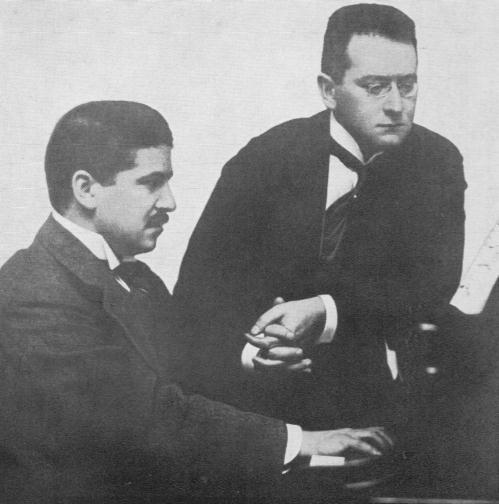 het duo Artur Schnabel - Carl Flesch